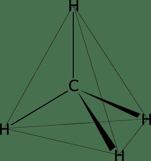 Tetraedro carbono